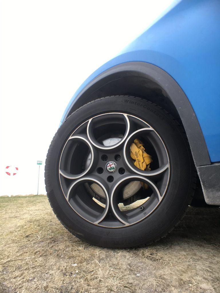 """Alfa Romeo Stelvio 2,2 D 19"""" alu"""