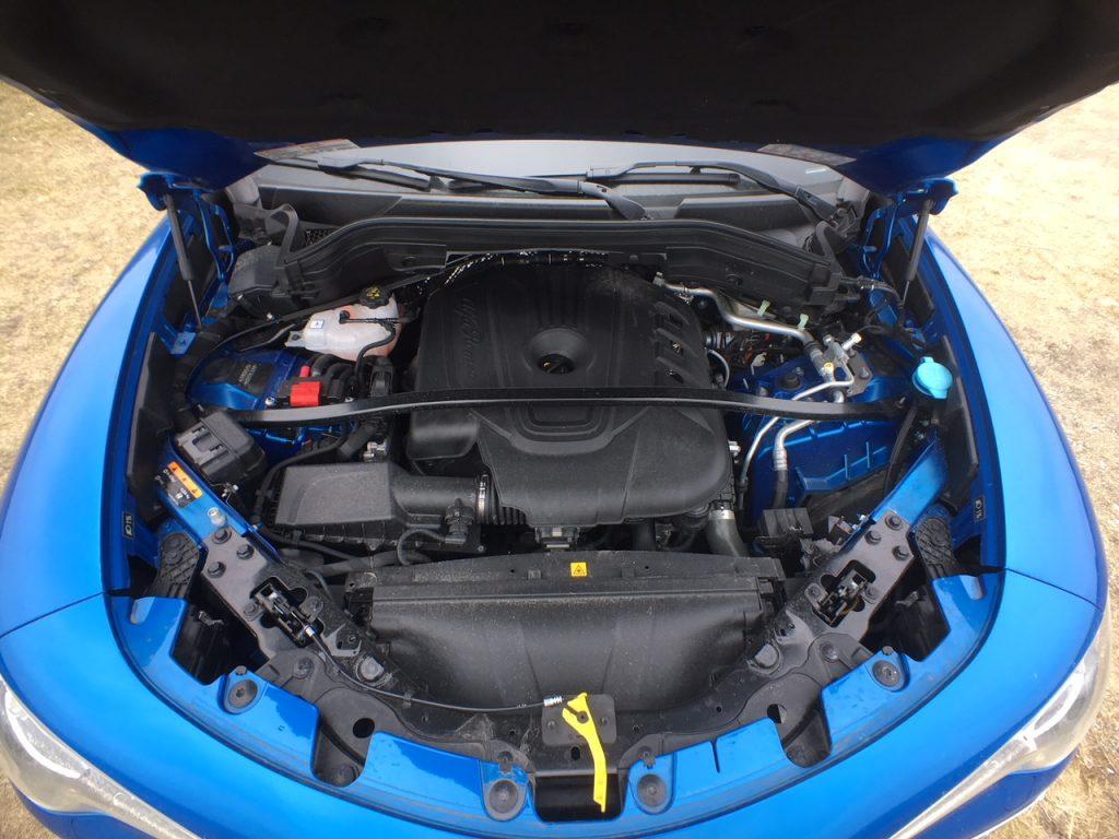Alfa Romeo Stelvio 2,2 D motor